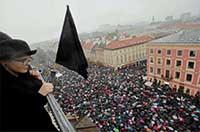 Aktivistkinje iz Hrvatske podržale ženska prava u Poljskoj