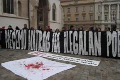 Akcija sekularnih udruga pred Ustavnim sudom