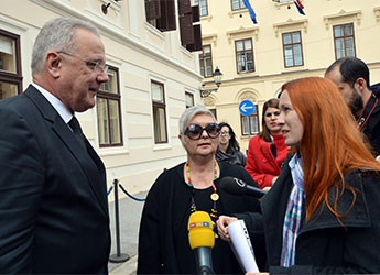 Vlada RH: Potpredsjednik Mimica s predstavnicama Ženske mreže Hrvatske